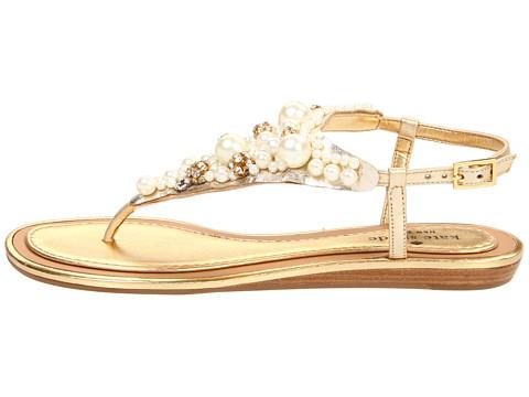 Kate Spade New York Imani Bead Amp Crystal Thong Sandal In