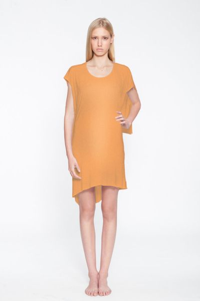 Kimberly Ovitz Riku Dress Ferrous in Orange - Lyst