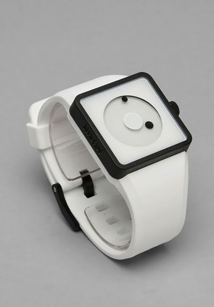 Nixon The Newton in White - Lyst