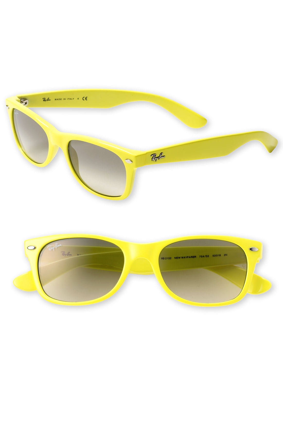 ray ban wayfarer yellow sunglasses  yellow ray ban wayfarer