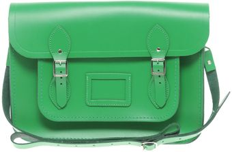 Cambridge Satchel Company Green 14 Satchel - Lyst