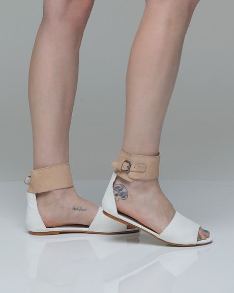 Cheap Monday Saviour Sianii in White (tan) - Lyst