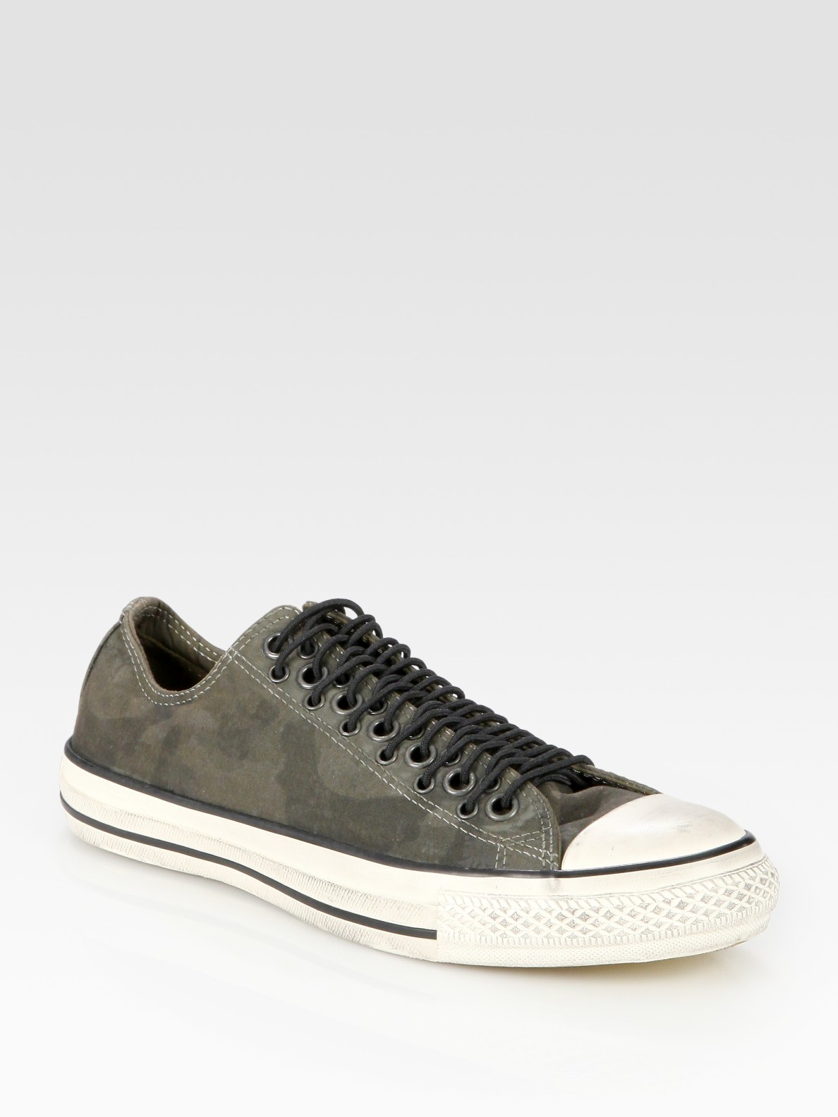 buy online 8fdc5 85564 Lyst - Converse John Varvatos Camouflage Canvas Sneakers in