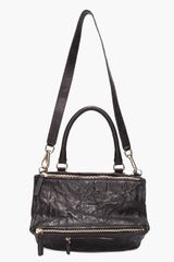 Givenchy Black Pandora Messenger Bag in Black - Lyst