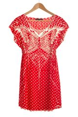 Modcloth My Favorite Wings Dress in Red (strawberry) - Lyst