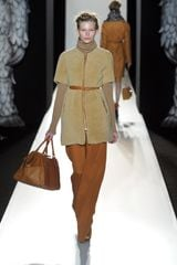 Mulberry Fall 2012 Sheepskin ZipUp Jacket  in Beige - Lyst