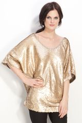 Rachel Zoe Sequin Dolman Top