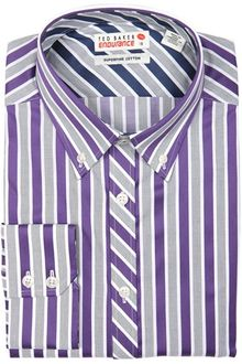 Ted Baker Dalstol Wide Stripe Shirt - Lyst