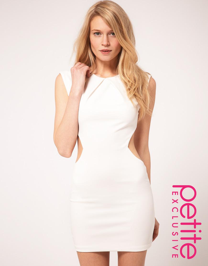 Petite White Dresses