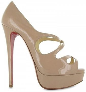 Christian Louboutin 150mm Mademoi Patent Criss Cross Pumps - Lyst