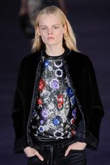 Christopher Kane Fall 2012 Multi Floral Embroidered Tunic  - Lyst
