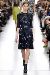 Erdem Fall 2012 Floral Lace Embroidered Evening Dress - Lyst