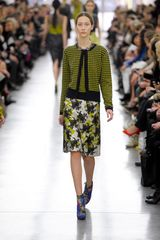 Erdem Fall 2012 Floral Lace Embroidered Skirt  - Lyst