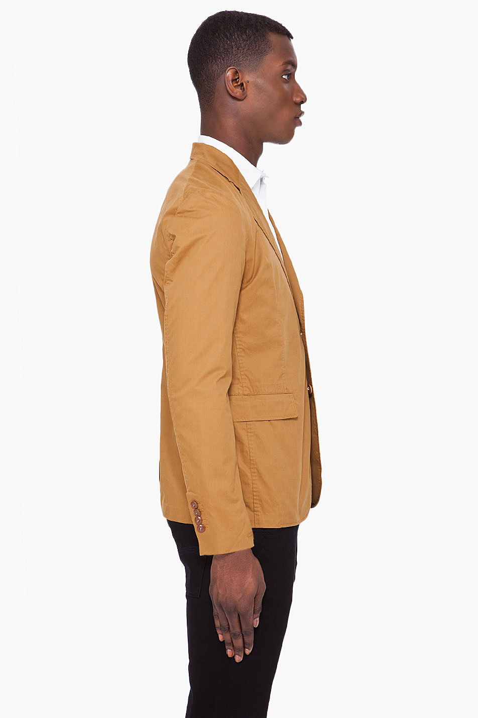 G-star raw Light Brown Blazer in Brown for Men | Lyst