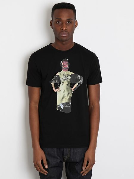 Marc Jacobs Mens Bäst T Shirt in Black for Men