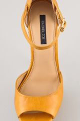 Rachel Zoe Bardot Platform Sandals in Yellow - Lyst