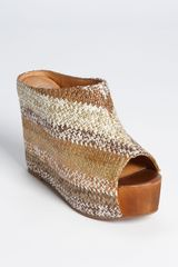 Jeffrey Campbell Virgo Wedge Platform Mule - Lyst