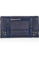 Jérôme Dreyfuss Leon Polka-dot Leather Clutch - Lyst