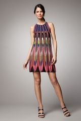 M Missoni Intarsia Tank Dress - Lyst
