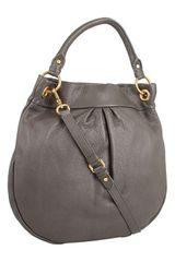 Marc By Marc Jacobs Classic Q Hillier Hobo in Gray (f) - Lyst