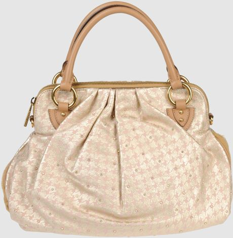 Marc Jacobs Large Leather Bag in Beige (pink) - Lyst
