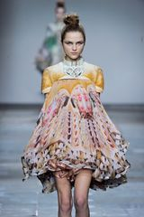 Mary Katrantzou Fall 2012 Runway Look 31 - Lyst