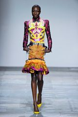 Mary Katrantzou Fall 2012 Stereogram Print Peplum Skirt  - Lyst