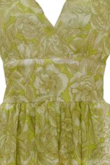 Sara Berman Sadie Mae Prom Dress  Lime Floral in Green (floral) - Lyst