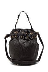 Alexander Wang Diego Bucket Bag in Black - Lyst