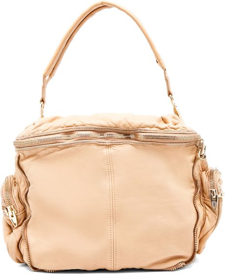 Alexander Wang Jane Square Bag In Toffee in Beige (toffee) - Lyst