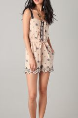 Alice By Temperley Poppy Romper - Lyst