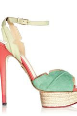 Charlotte Olympia Isla in Multicolor (green) - Lyst