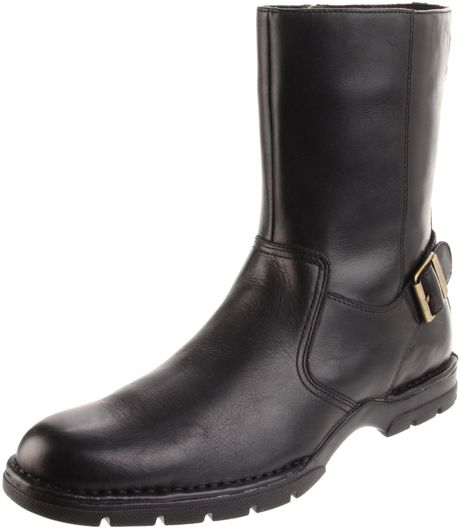 cole haan mens air reno buckle boot in black for lyst