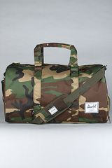 Herschel Supply Co. The Novel Cordura Duffle Bag in Camo - Lyst