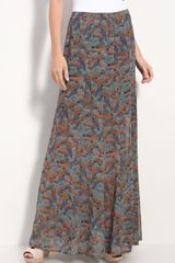 Hinge ® Sheer Chiffon Maxi Skirt