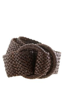 J.Crew Wide Braided Belt - Lyst
