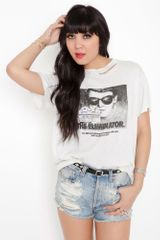 Nasty Gal The Eliminator Tee - Lyst
