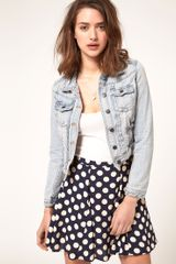 River Island Denim Jacket - Lyst