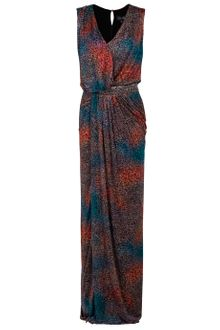 Saloni Sara Long Beaded Waist Dress - Lyst