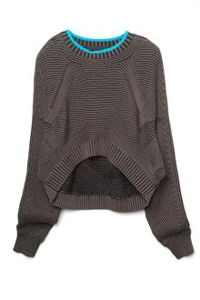 Alexander Wang Bi-Color Rib Shrug - Lyst
