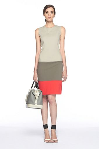 Diane Von Furstenberg Sharby Color Block Dress - Lyst