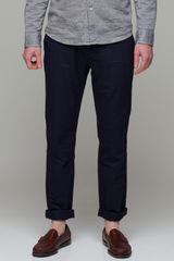Life After Denim Wilson Pant in Navy - Lyst