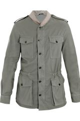 Maison Martin Margiela Military Shawl-collar Jacket - Lyst