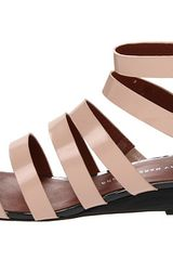 Marc By Marc Jacobs Flat Sandals in Pink (b) - Lyst