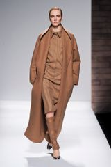 Max Mara Fall 2012 Long Coat in Camel