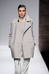 Max Mara Fall 2012 Short Double- Breasted Peacoat  - Lyst