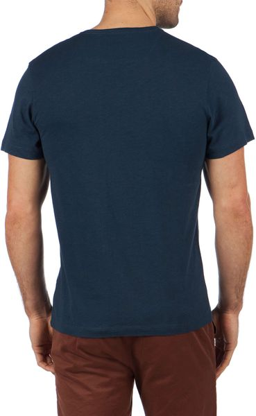 Ted Baker Graphic T Shirt In Blue For Men Navy Lyst
