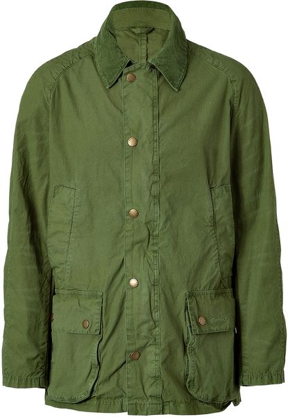 Barbour Lawn Rambler Jacket in Green for Men (grass) - Lyst