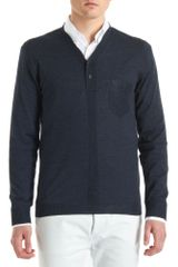 Alexander McQueen Long Sleeve Pocket Henley - Lyst