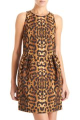 Giambattista Valli Gathered Waist Dress - Lyst